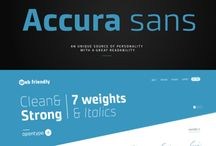 Fonts & Typefaces / Beautiful fonts and types
