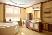 Banheiro / Ideias, dicas e tendências para a decoração do banheiro.