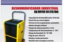 Deshumidificadores Industriales, bajar la humedad es la prioridad!