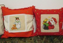 Cross stitch / Pillows