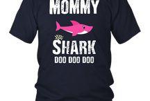 Mommy Shark Tshirt, Doo Doo Doo