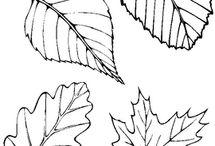 Bladeren en andere spullen uit de natuur namaken