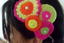 Citrus Crochet hairbands♡♡