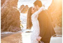 beach engagement / engagement photos inspo