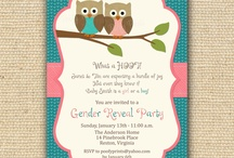 gender reveal party (one day) / by Lucy Lewis
