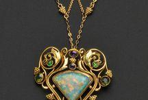art deco (mermaid jewelry)