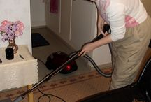 Vacuuming the House / Vacuuming the house