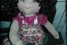 minhas bonecas / amo o que faço