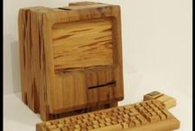 Objects made of wood / Lovely things made of wood. www.venablesoak.co.uk
