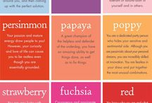 Wedding inspired Simple Color Charts | inspiration / color themes for an incredibly vibrant wedding