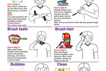 Sign Language Chart / Sign Language Chart for Kids