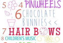 Easter / Easter, Spring, Easter Basket, Eggs, Bunny,