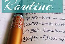 Bujo Planning Routine