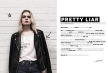PRETTY LIAR / PRETTY LIAR COLLECTION EVERY SHIRT HAS IT OWN STORY!