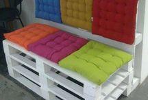 paletes sofa