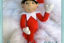 Handmade Elf on the Shelf / Handmade Elf on the Shelf. Waldorf Style Doll.