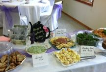 ~ EVENTS ~ / Luncheons, Showers, Dinners...we can cater it all!