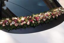 στολισμός αυτοκινήτου.. / διακόσμηση αυτοκινήτων για γάμο..