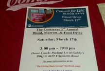 The Giving Back Group / Making a child smile, feeding someone who's hungry, saving a life by donating your blood or stem cells.  These are the core elements that formed this group. / by Roger Contreras