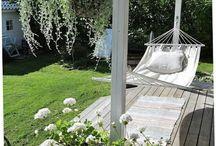 Kuistit, verannat ja terassit