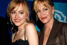Meanie Griffith and daughter Dakota Johnson