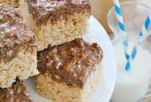 Sweet Treats - Bars and Brownies / Bars and Brownies / by Angela Virissimo
