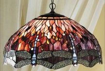 Timeless Tiffany / Originally designed by Louis Comfort Tiffany, these Tiffany light fittings will brighten up any room.