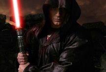 Superman oblečený jako Star Wars Jedi / Star Wars