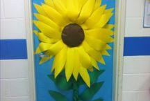 λουλουδι για πορτα