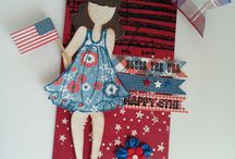 Julie Nutting Paper Doll Tags