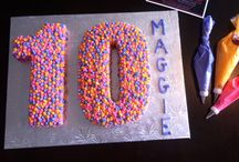 Mia's birthday cake idea's