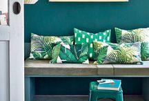 blauw groen