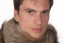 Men's fur neck warmers / Men's fur neck warmers. Men's real fur accessories. Handmade in Italy.  www.amifur.com