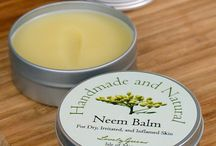 healing balms and creams