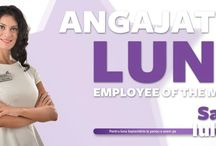 """Employee of the month / """"Employee of the Month"""" is a popular activity undertaken by our company that highlights the achievements of our employees"""
