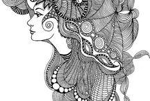 zentangle women