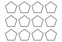 Hexagonnen, Pentagon etc.