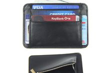 Men RFID Blocking Front Pocket Slim Minimalist Wallet
