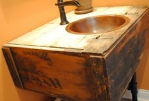 Upcycle Bathroom / by Connie Stilts