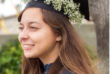 Grad Cap Florals / Flower Allie's exclusive line of Grad Cap Florals. Allison Becker of Flower Allie has created line of Grad cap florals sparking what we hope will be a nationwide trend.
