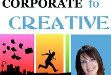 From Corporate to Creative / Are you ready to break free of your day job and go from Corporate employee to Creative entrepreneur? Or have you already made the leap, and are now struggling to run your creative business and feeling overwhelmed as an entrepreneur? Join host Kelly Galea - former corporate hostage turned creative entrepreneur, author, speaker and coach - and her guests as we share valuable information & tips on how to ease the transition from Corporate to Creative. / by Kelly Galea - Power Up Living