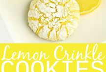 yellow dessert ideas