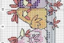 schemi punto maglia