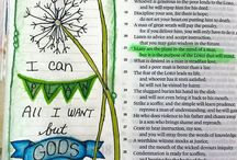 Bible Journaling / by Cathy Mullet
