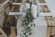 Dinner & Lunch table decor