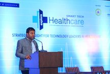 "Smart Tech Healthcare 2016 Summit / After the successful completion of ""Smart Tech BFSI 2016"", Explore Exhibitions has come up with yet another interesting summit ""Smart Tech Healthcare 2016"". The Summit will be held on 24th & 25th November 2016, Bangalore, India. The conference will trigger the main aspects related to the healthcare sector and usher the best practices and its implications that drives innovation and growth in the industry.   www.ithealthcare.co.in"