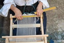 Hand Weaving - Tools and Techniques / Creating traditional Sardinian patterns and designs