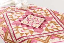 Table Runners, toppers, mug rugs