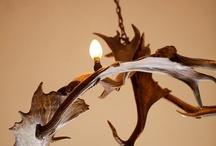 Antler Chandelier - Design / Bespoke lighting using shed antlers