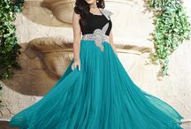 Colourful Wedding Gowns / Latest colourful wedding wear gowns online shopping on our e-commerce store Fashion Fiza have designer Indian Dresses like Party Wear Gowns, Indian ladies dress with free shipping & COD Facility.